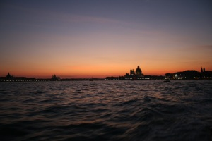The sun sets on Venice (You get what that means, right?)
