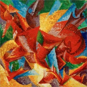 Dimensional Shapes of a  Horse, Umberto  Boccioni
