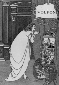 Aubrey Beardsley's Front Cover to Volpone